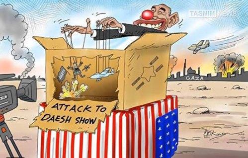 Israeli bombs on Gaza