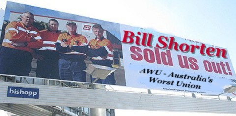 Bill sold us out