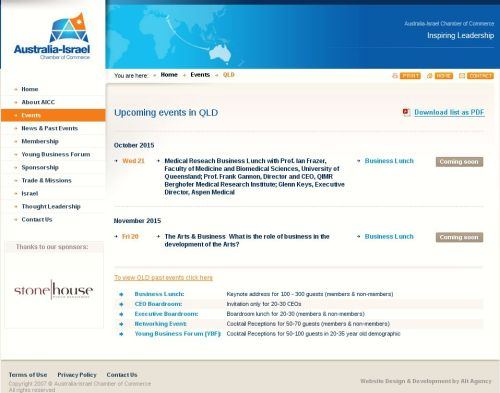 Australia-Israel Chamber of Commerce 2015-09-29 08-44-02
