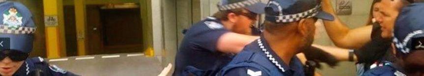 Blockade to prevent Wilson Security running Australian refugee detentioncentres