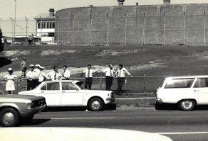 Outside Boggo Road 1978