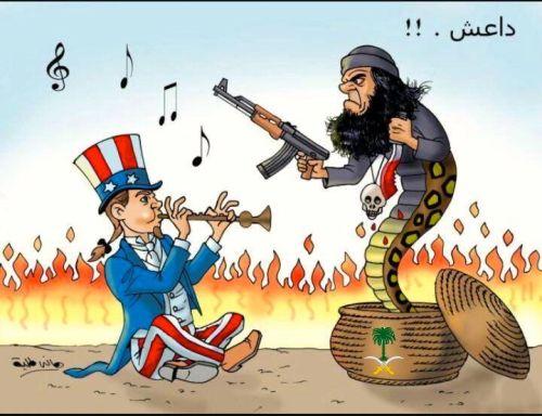 cartoons about saudi 2