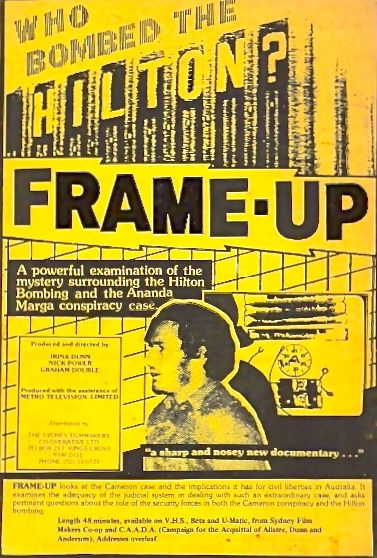 Frame-up cover