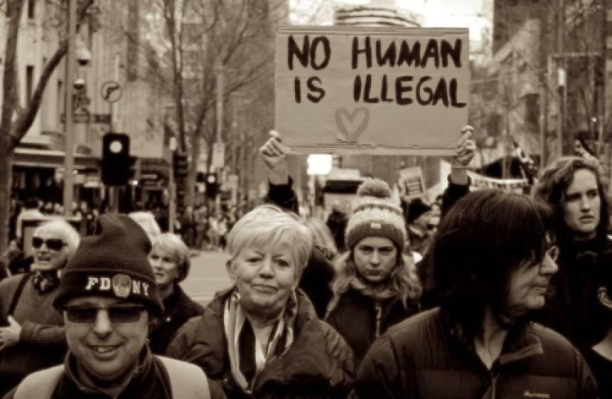 Activists in Melbourne