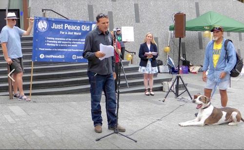 Paul Petersen for MUA at Just Peace rally.jpg