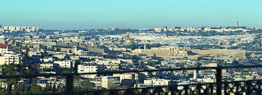 Jerusalem – open city