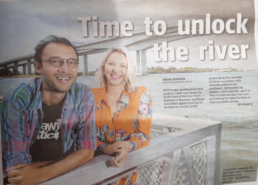 Unlocking Brisbane River