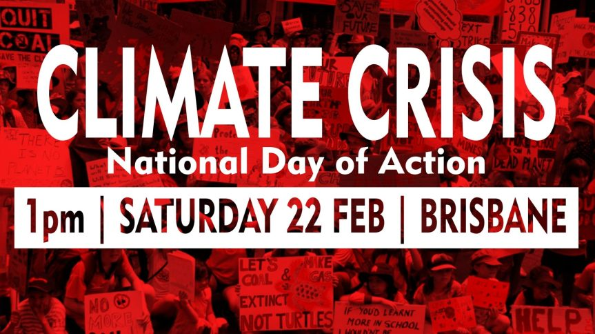 Climate Justice – when King George Square isfull