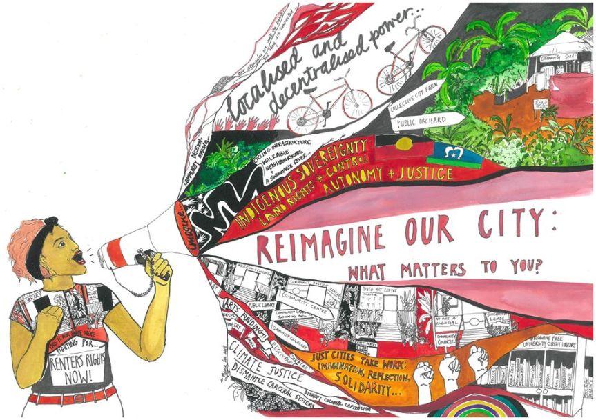 Meanjin: portrait of a city onfire