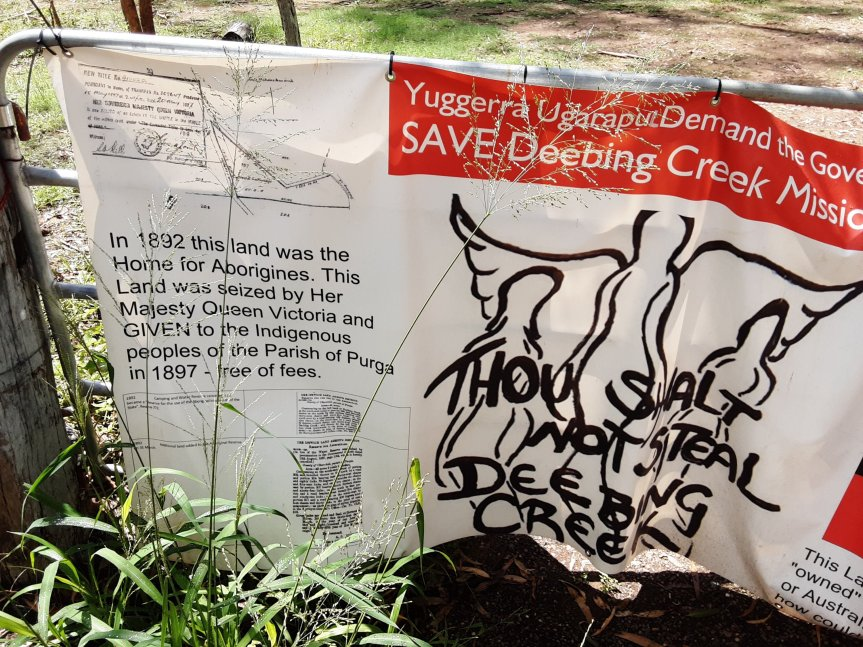 Developers set to destroy Deebing Creek