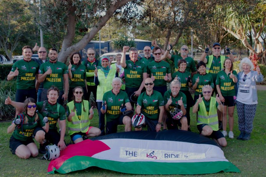 Register now for the Big Ride forPalestine!