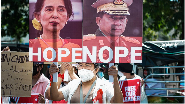 Notes on the Coup in Myanmar: Karmic Kingship, Legitimacy, andSovereignty