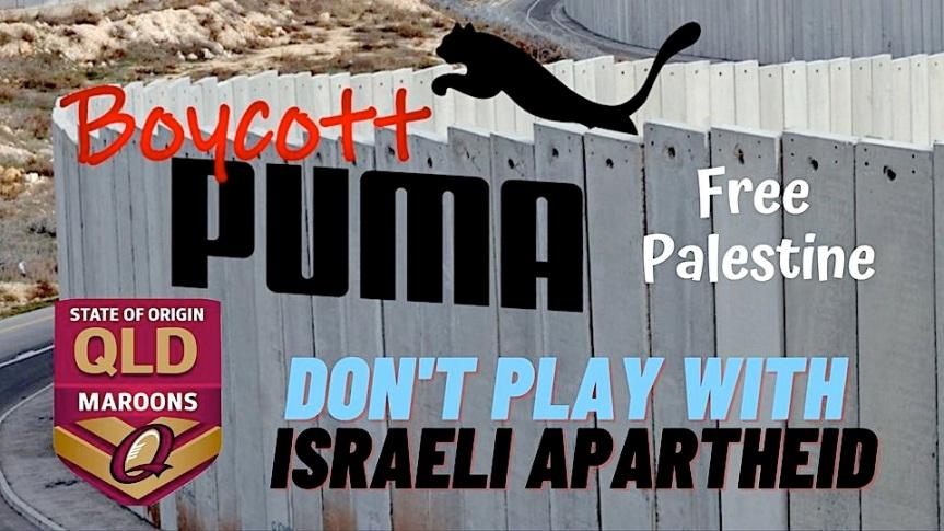 Boycott PUMA – FreePalestine!
