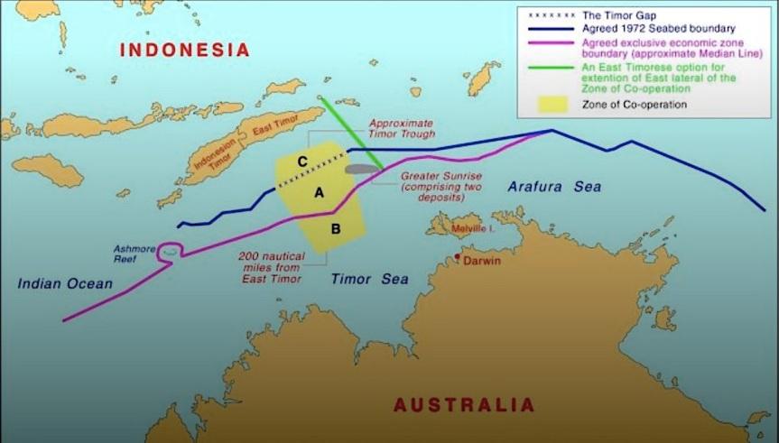 The Timor Gapfraud