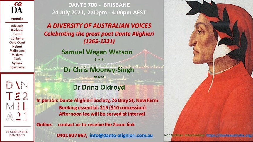 Dante: a diversity of Australianvoices