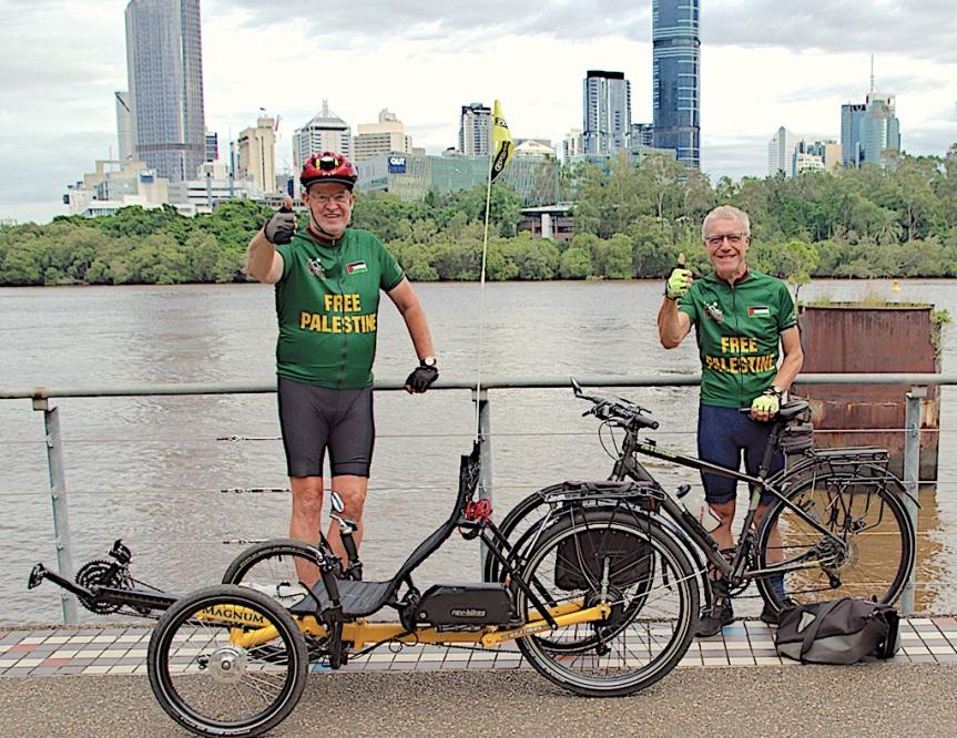 <em>The Big Ride for Palestine</em> goes to <em>Tour de Brisbane</em>2021